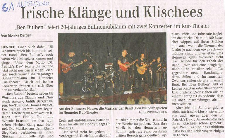 Generalanzeiger vom 16.03.2010