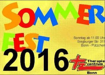 Sommerfest des Therapiezentrums Bonn 2016